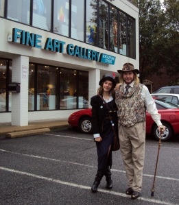 Steampunk at the gallery 31