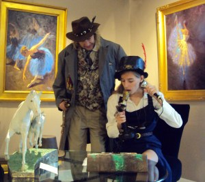 Steampunk at the gallery 4